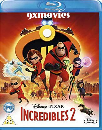 Incredibles 2 2018 English 720p BRRip 1GB ESubs