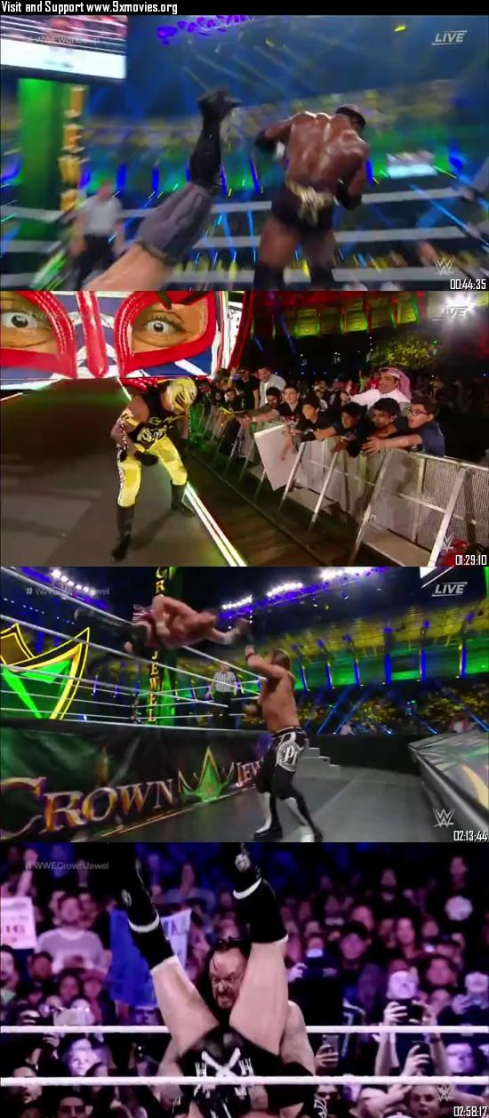 WWE Crown Jewel 2018 PPV WEBRip 480p