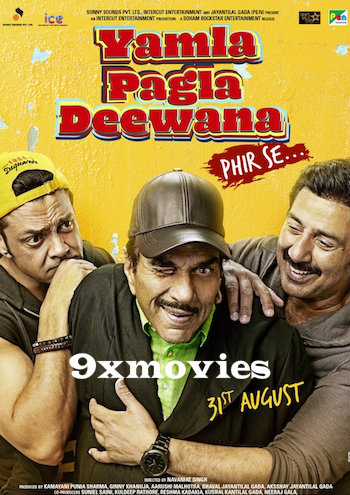 Yamla Pagla Deewana Phir Se 2018 Hindi 720p HDRip 990mb