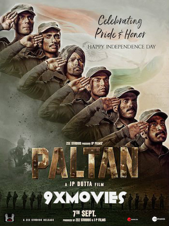 Paltan 2018 Hindi 720p HDRip 1GB