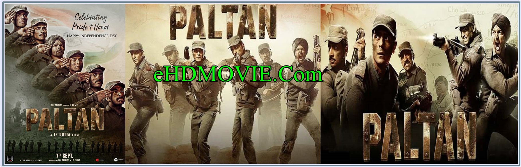 Paltan 2018 Full Movie Hindi 1080p - 720p - HEVC - 480p ORG WEB-DL 400MB - 700MB - 1.1GB - 3.1GB ESubs Free Download