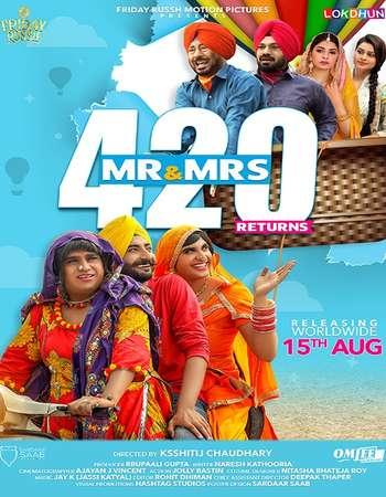 Mr & Mrs 420 Returns 2018 Punjabi 800MB HDTV x264