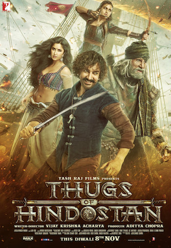 Thugs Of Hindostan 2018 Hindi 720p pDVDRip 1GB