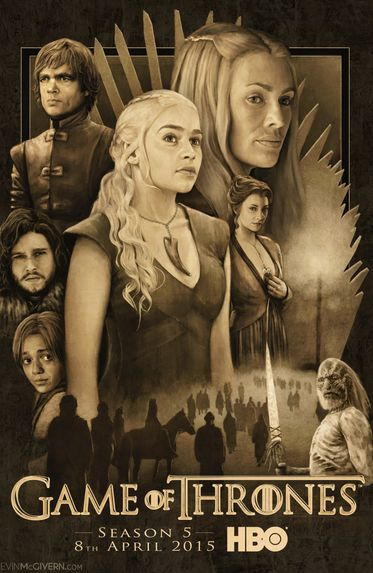 Game of Thrones Season 5 English Complete 720p BluRay ESubs