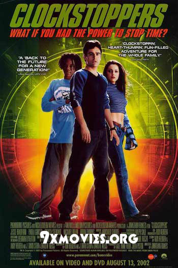 Clockstoppers 2002 Dual Audio Hindi 720p WEB-DL 800mb