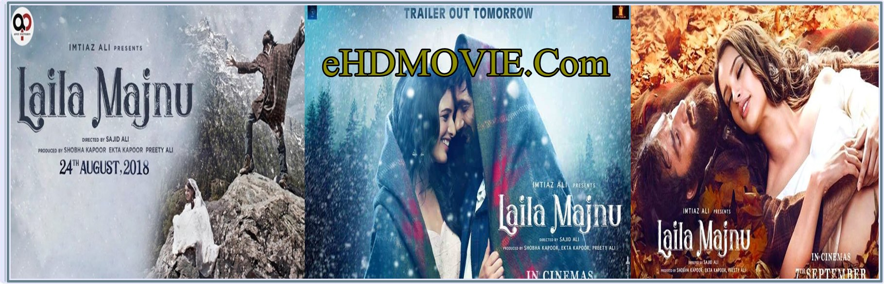 Laila Majnu 2018 Full Movie Hindi 720p - HEVC - 480p ORG WEB-DL 350MB - 600MB - 1GB ESubs Free Download