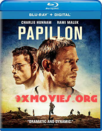 Papillon 2017 English 720p BRRip 1.1GB ESubs