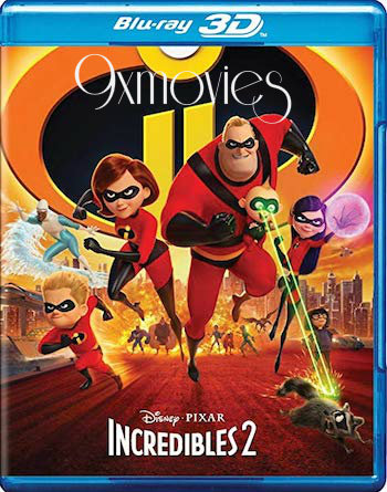 Incredibles 2 (2018) Dual Audio ORG Hindi 720p BluRay 950mb