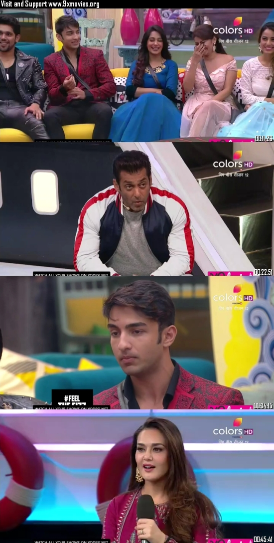 Bigg Boss S12E55 Hindi 10 Nov 2018 HDTV 480p