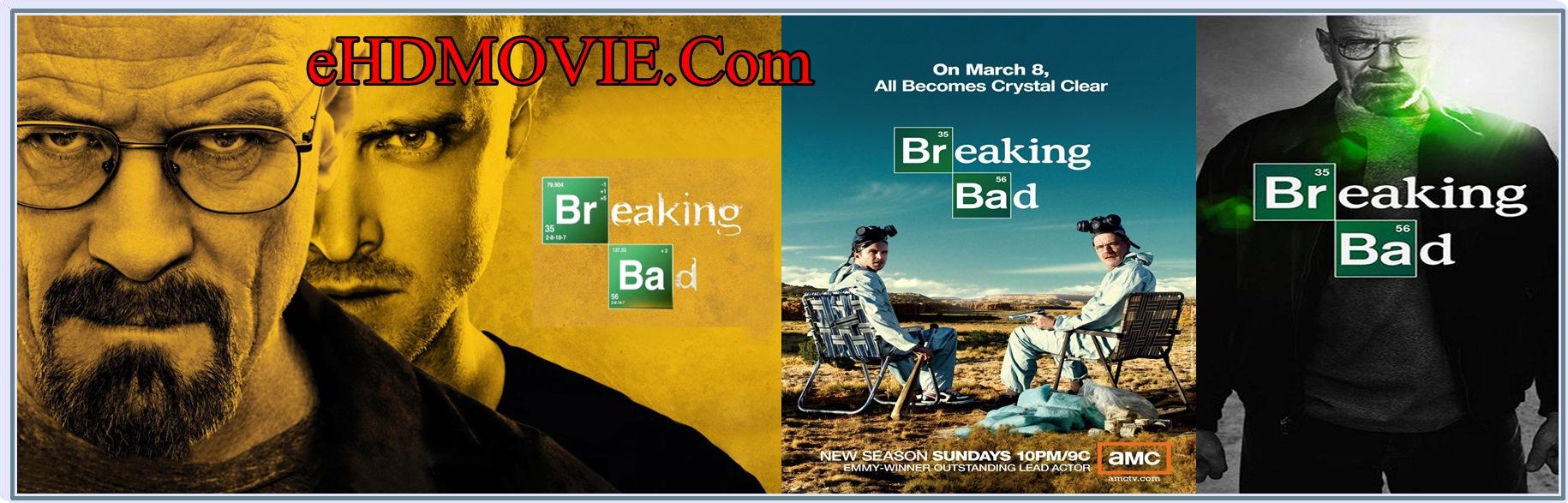 Breaking Bad Season 1-5 Complete English BRRip 480p & 720p