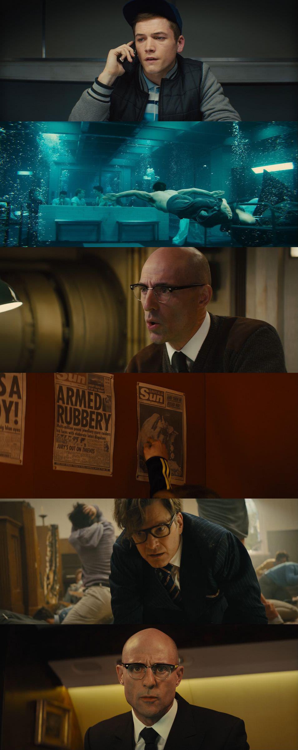 Kingsman: The Secret Service 2014 Dual Audio Hindi English BluRay Full Movie Download HD
