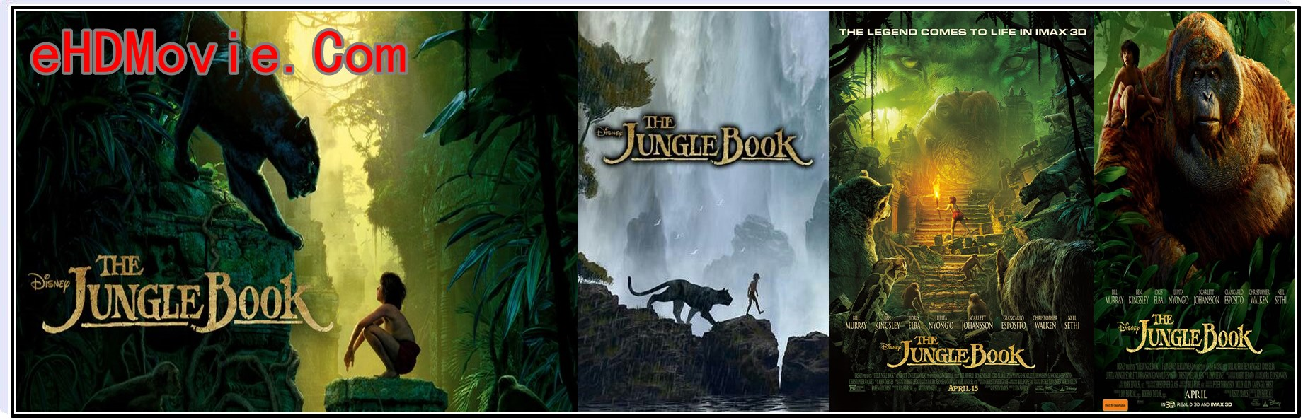 The Jungle Book 2016 Full Movie Dual Audio [Hindi – English] 720p - 480p ORG BRRip 350MB - 800MB ESubs Free Download