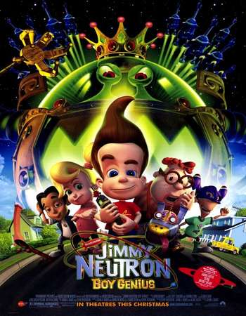 Jimmy Neutron Boy Genius 2001 Hindi Dual Audio 250MB BluRay 480p ESubs