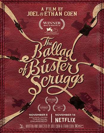 The Ballad of Buster Scruggs 2018 English 720p NF Web-DL 999MB MSubs