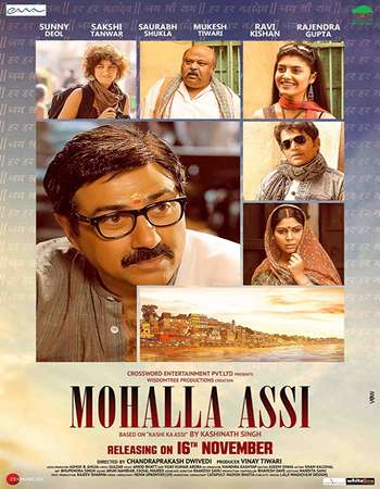 Mohalla Assi 2018 Full Hindi Movie 720p HDRip Download