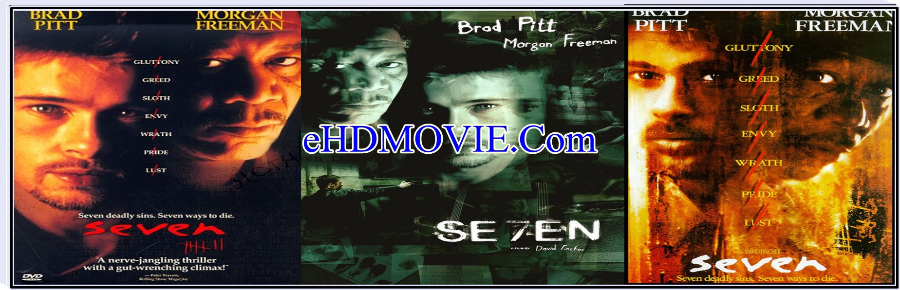 Se7en 1995 Full Movie English 720p – 480p ORG BRRip 450MB – 1GB ESubs Free Download