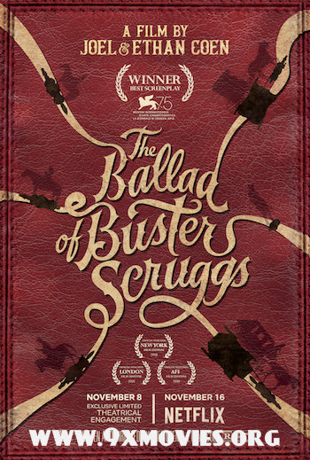 The Ballad of Buster Scruggs 2018 English 720p WEB-DL 1GB ESubs