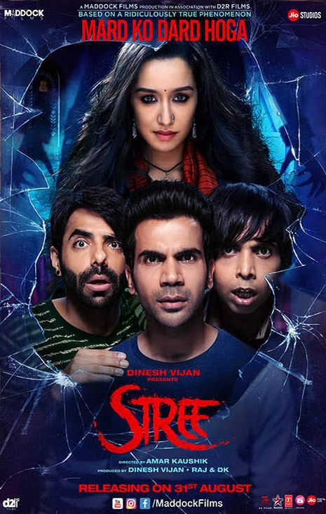 Stree 2018 Hindi 720p Web-DL 1.3GB