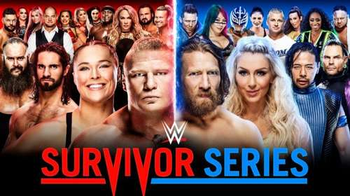 WWE Survivor Series 18th November 2018 850MB PPV WEBRip 480p