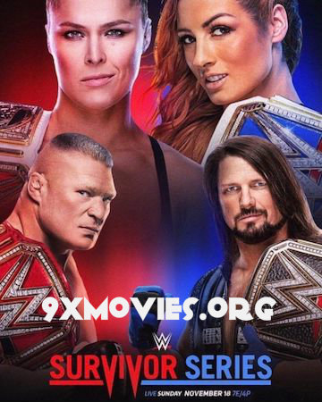 WWE Survivor Series 2018 PPV WEBRip 480p x264 850MB