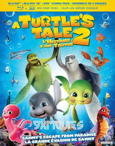 A Turtles Tale 2 – Sammys Escape From Paradise 2012 Dual Audio Hindi 720p BluRay 750mb