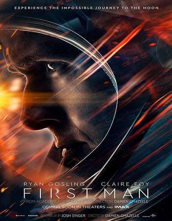 First Man 2018 Hindi Dual Audio 700MB BluRay 720p MSubs HEVC