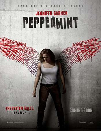 Peppermint 2018 English 720p Web-DL 800MB ESubs