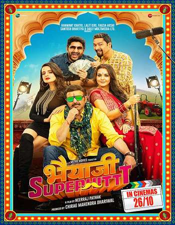 Bhaiaji Superhit 2018 Hindi 700MB PreDVD AAC x264