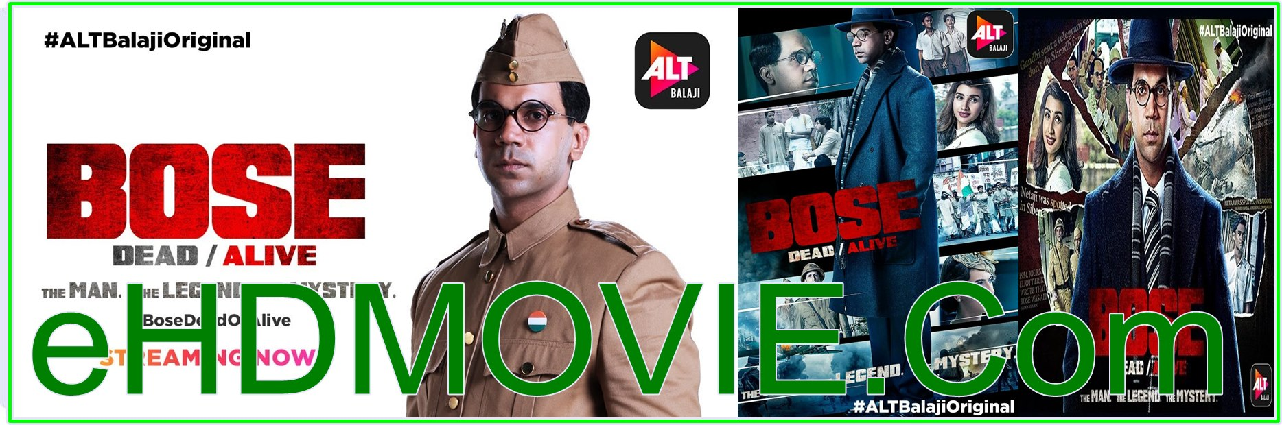 Bose: Dead/Alive 2017 S01 Complete Hindi 720p BRRip ESubs