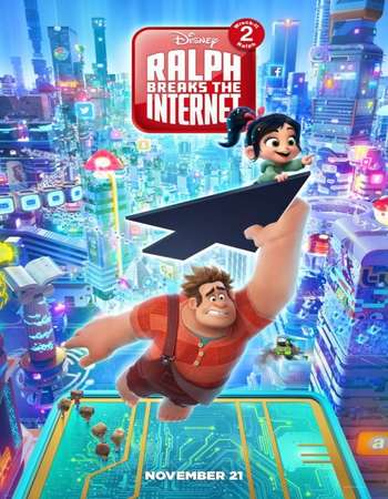 Download Ralph Breaks the Internet (2018) 720p Web-DL  x264 [Dual-Audio][Hindi (Cleaned) - English] ESubs  - Downloadhub Torrent