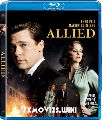Allied 2016 Dual Audio Hindi Bluray Movie Download