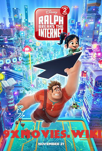Ralph Breaks The Internet 2018 Hindi Dubbed 720p HDCAM 850mb