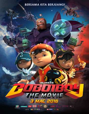 BoBoiBoy The Movie 2016 Hindi Dual Audio Web-DL Full Movie 300mb Download