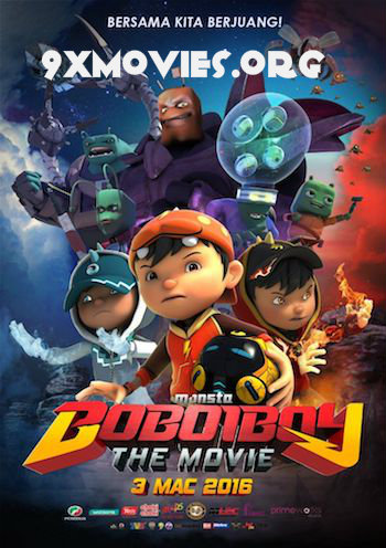 BoBoiBoy – The Movie 2016 Dual Audio Hindi 720p WEB-DL 850mb