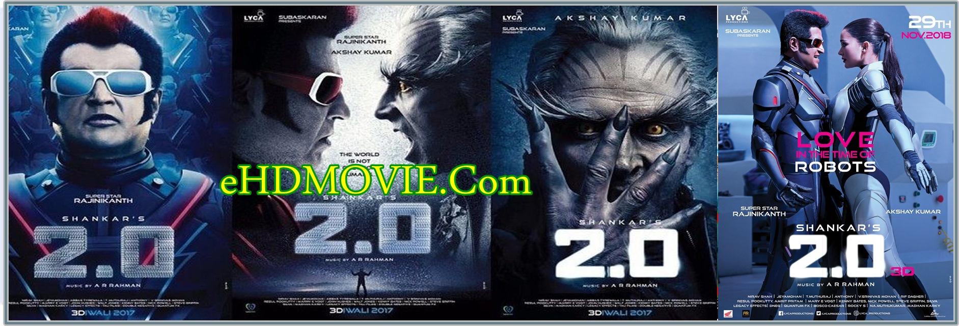 2.0 2018 Full Movie Hindi 1080p - 720p - HEVC - 480p ORG Pre-DvD 450MB - 800MB - 1.5GB - 2.4GB ESubs Free Download