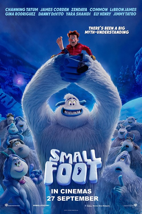 Smallfoot (2018) English Movie DVDRip 700MB MKV