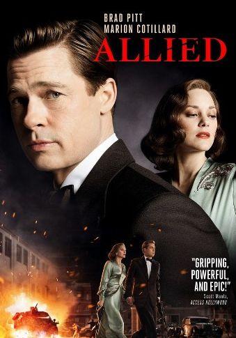 Allied 2016 Dual Audio Hindi English BluRay Full Movie Download HD