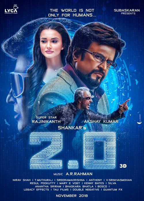 Robot 2.0 (2018) Hindi Audio Cleaned Movie Desi pDVD 400MB