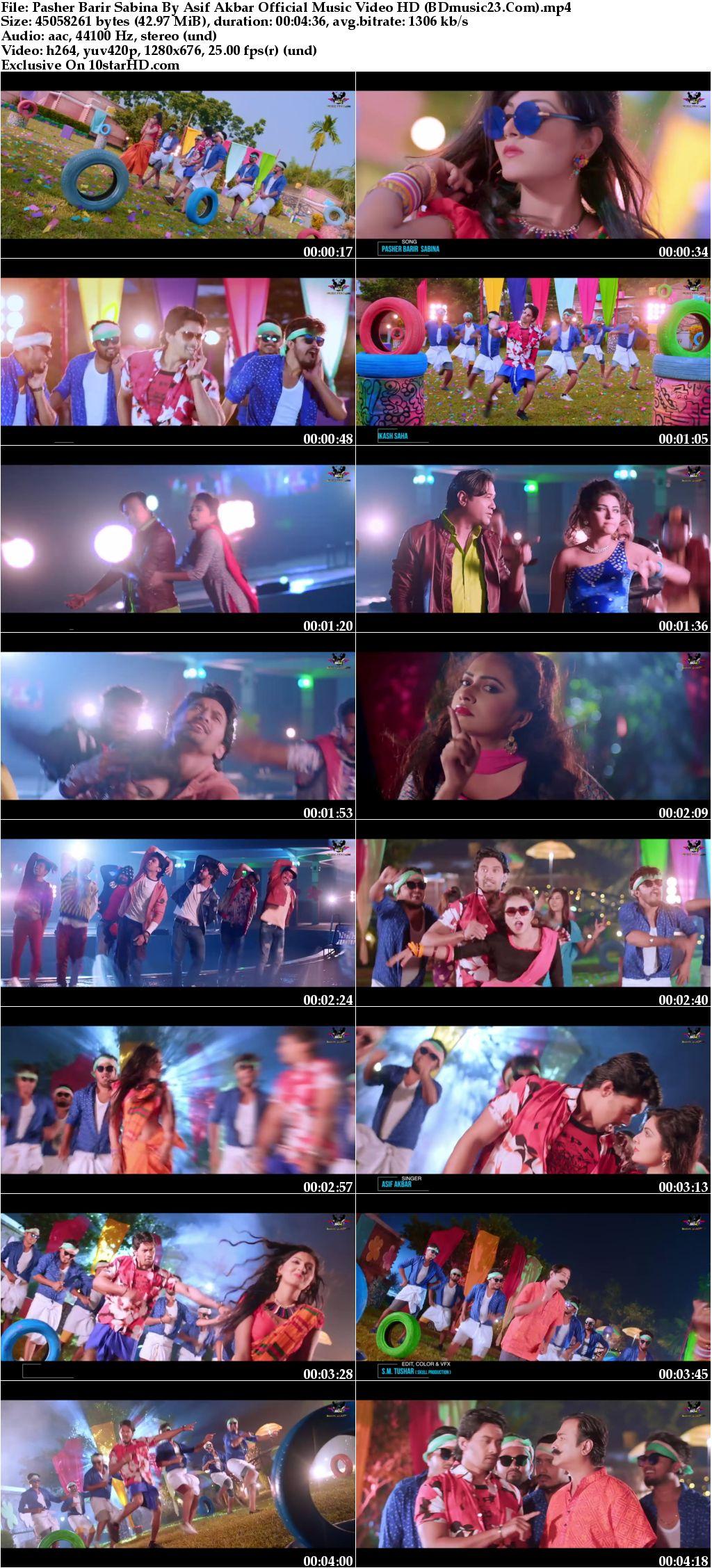 Pasher Barir Sabina By Asif Akbar Official Music Video (2018) HD