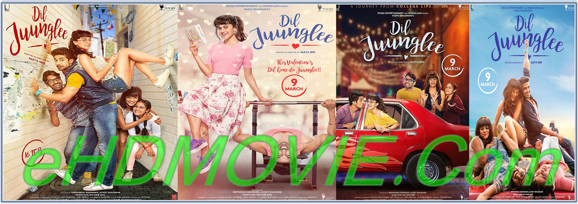 Dil Juunglee 2018 Full Movie Hindi 1080p - 720p - HEVC - 480p ORG WEB-DL 350MB - 550MB - 900MB - 3GB ESubs Free Download