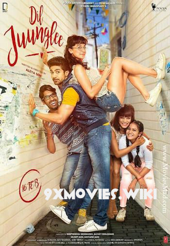 Dil Juunglee 2018 Hindi 720p HDRip 850mb