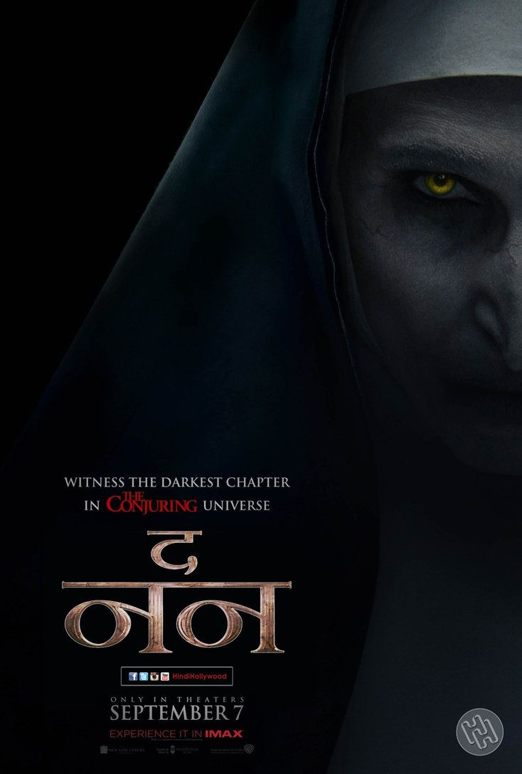 The Nun 2018 Hindi Dual Audio 720p BluRay 800MB DD5.1 x265
