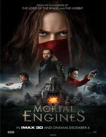 Mortal Engines 2018 Hindi Dual Audio HDCAM Full Movie 480p Free Download