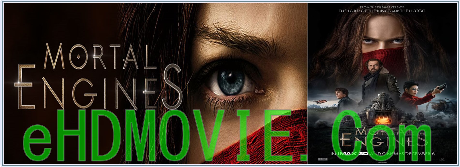 Mortal Engines 2018 Full Movie Dual Audio [Hindi – English] 1080p - 720p - 480p ORG HDTS 400MB - 1GB ESubs Free Download