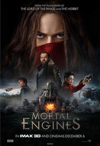 Mortal Engines 2018 Dual Audio Hindi 720p HDTS 950mb