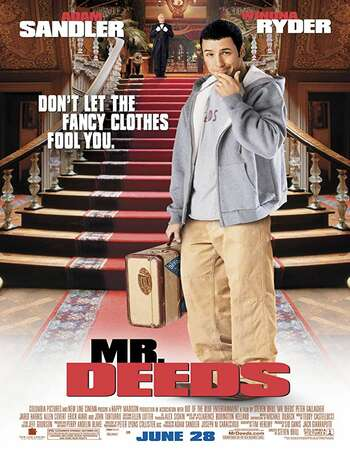 Mr Deeds 2002 Hindi Dual Audio 300MB BluRay 480p ESubs