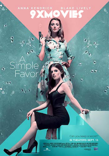 A Simple Favor 2018 English 720p BRRip 1GB ESubs