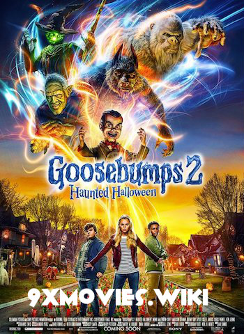 Goosebumps 2 (2018) Dual Audio Hindi 720p HDRip 800mb