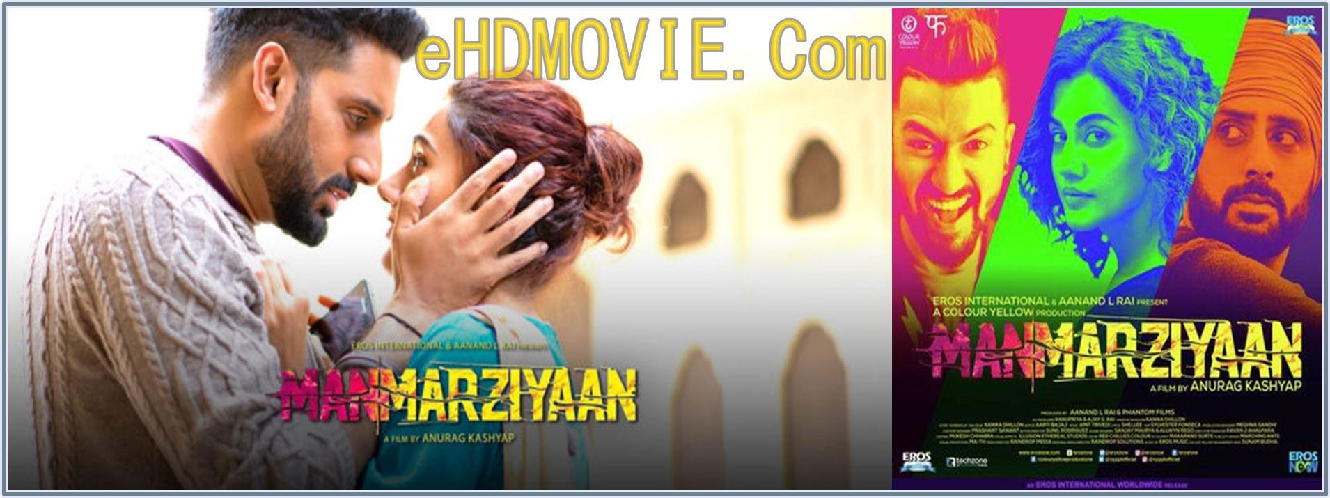 Manmarziyaan 2018 Full Movie Hindi 1080p – 720p – HEVC – 480p ORG WEB-DL 450MB – 700MB – 1.2GB – 2GB ESubs Free Download