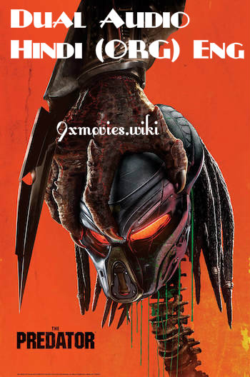 The Predator 2018 Dual Audio ORG Hindi 720p BluRay 850mb